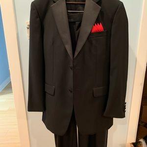 Men's Tuxedo Suit/ 2 Vest/ Bow ties